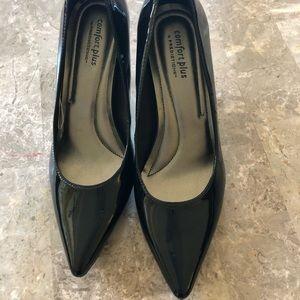 Women's Black patent heels